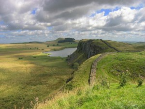 Hadrian's wall near Housesteads